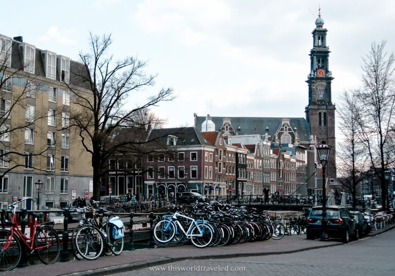 The Westermarkt church in Amsterdam