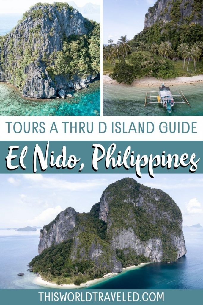 Tours A thru D Island Guide to El Nido, Philippines