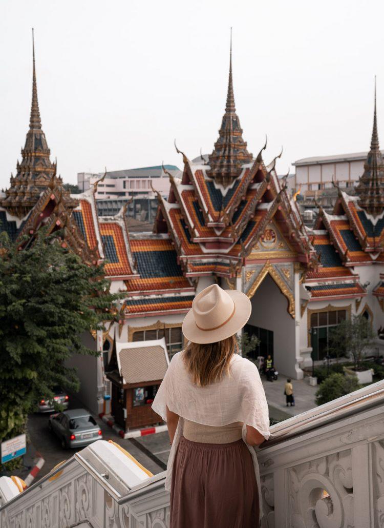 Temples of Wat Yannawa in Bangkok, Thailand